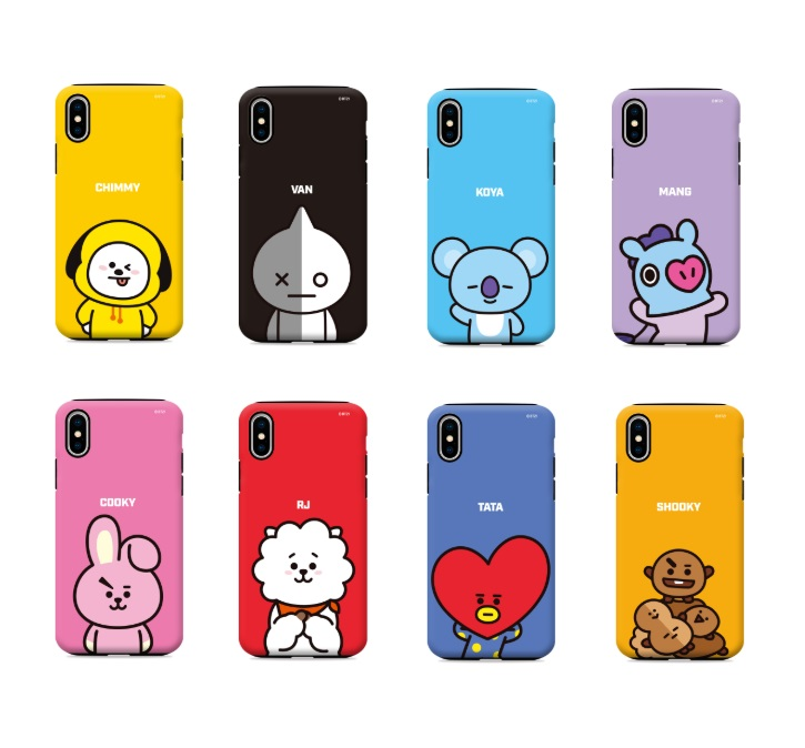 new style 0bed6 f81cf BT21 Phone Case - Gcase Guardup Case (Official Licensed)