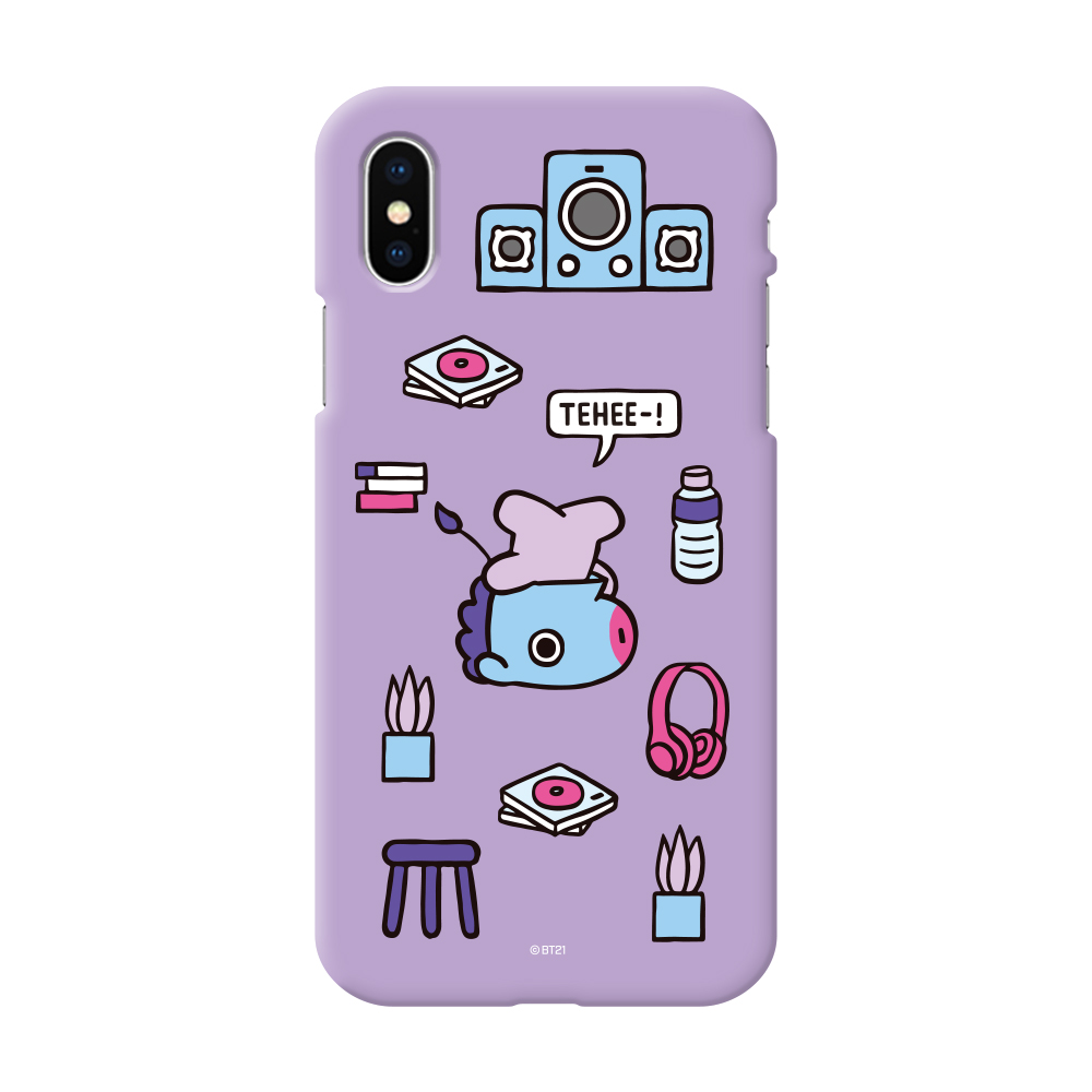 BT21 Phone Case – Color Soft Jelly Roomies Series